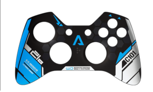Xbox Controller Skin Template Xbox One Controller Ve...